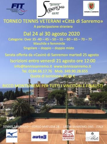 Torneo veterani città di Sanremo