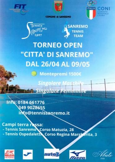 Torneo open maschile e femminile